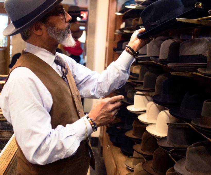 De geschiedenis van de trilby hat