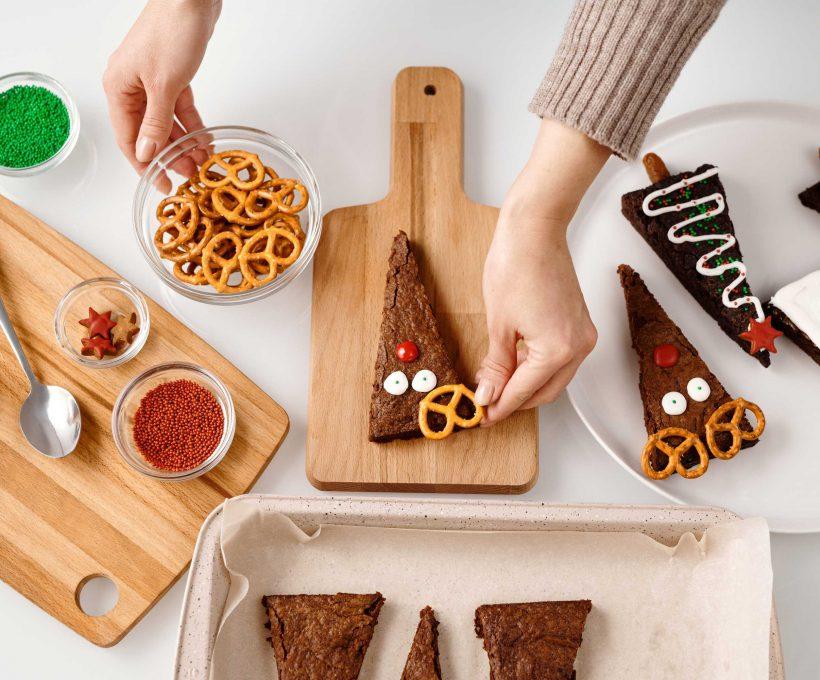 Kerstpakketten maken